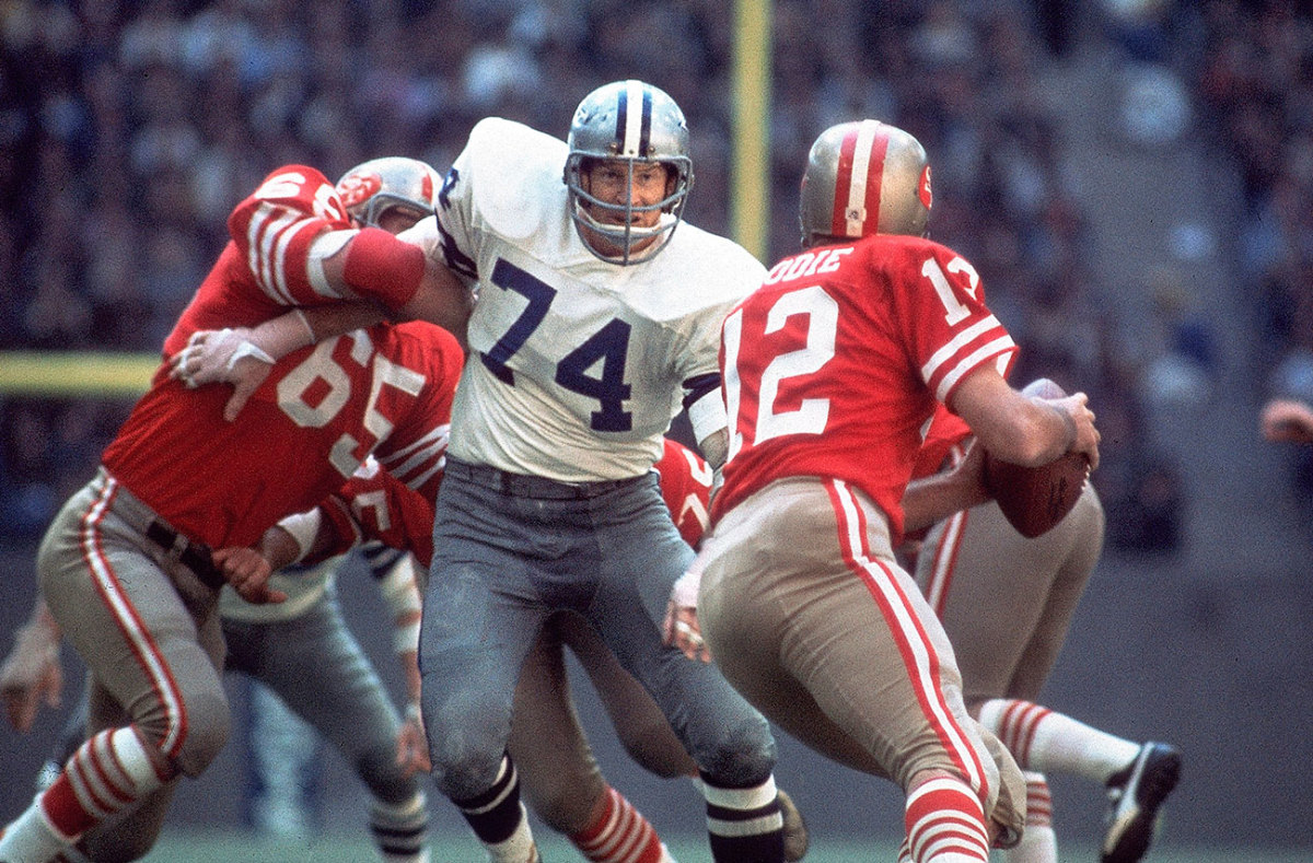 Bob Lilly, NFC Championship Game, January 1972.