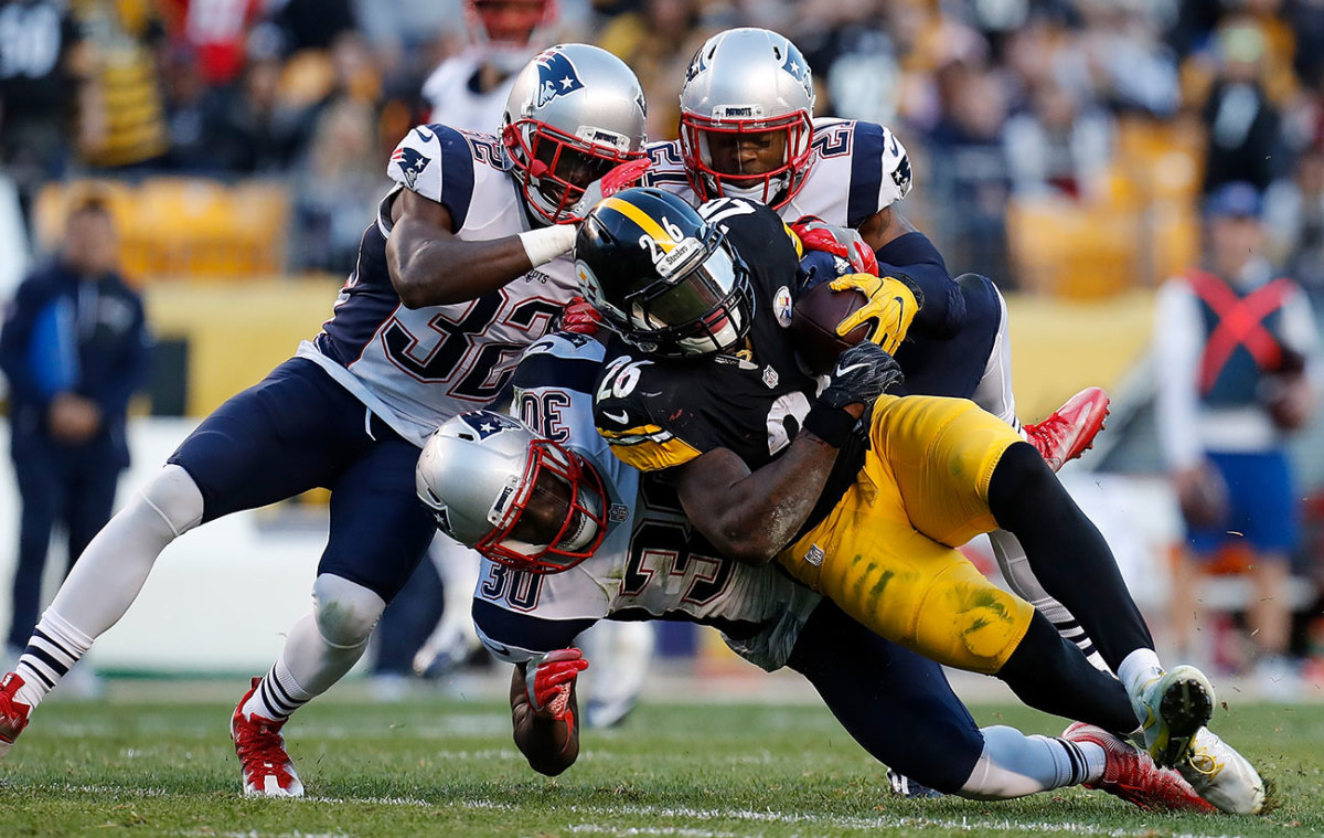The Pats D did enough to clamp down on Le'Veon Bell and the Roethlisberger-less Steelers.