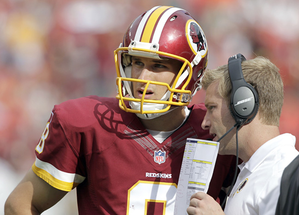 Last year, Washington's offense thrived behind first-year starter Cousins and first-year play-caller McVay.