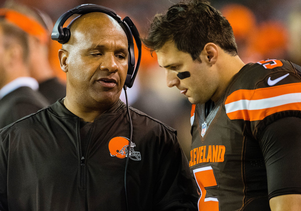 A quick succession of injuries in Cleveland launched Kessler (right) from a third-string emergency option to permanent starter.