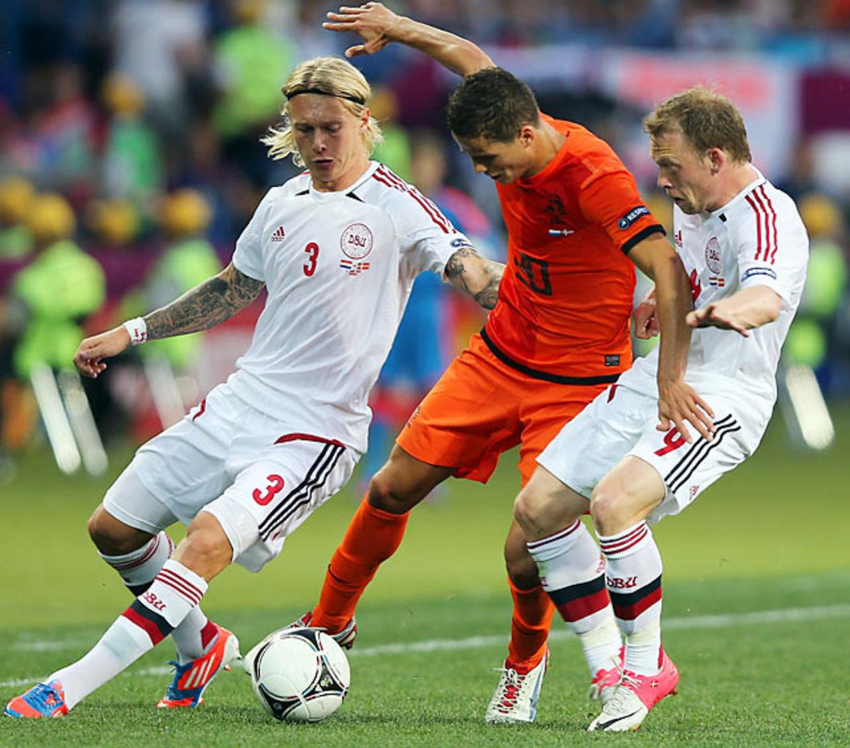 Denmark-Netherlands (1-0)