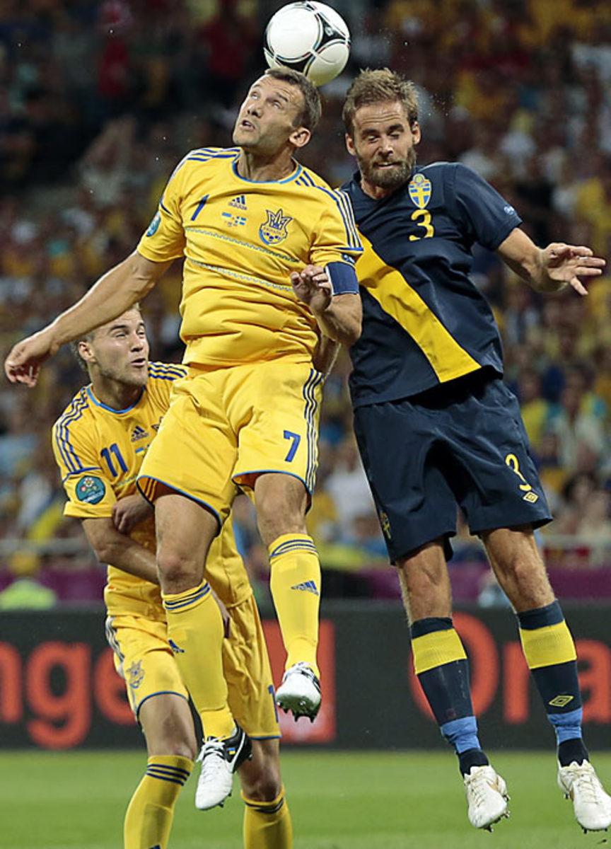 Ukraine-Sweden (2-1)