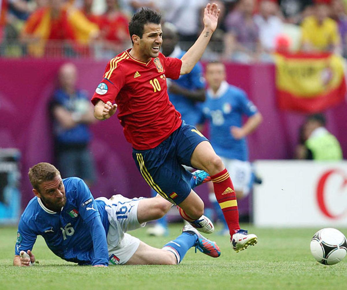 Spain-Italy (1-1)