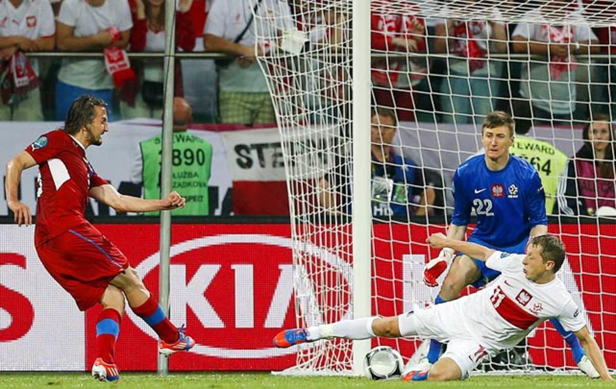 Czech Republic-Poland 1-0
