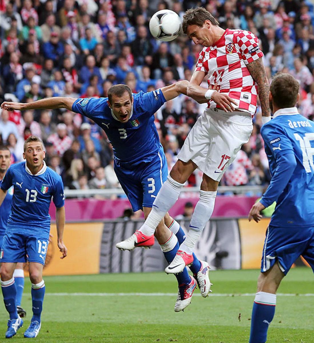 Italy-Croatia (1-1)
