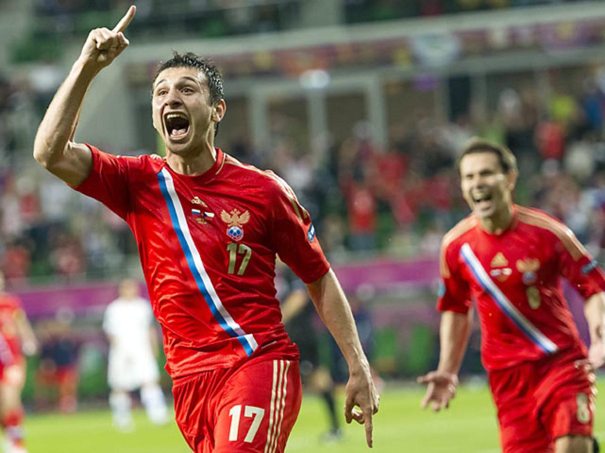 Russia-Czech Republic (4-1)