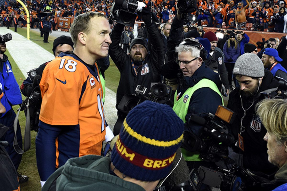 If not for postseason incentives in his contract (a rarity), Manning would earn only $173,000 for the entire playoffs if he leads the Broncos to a Super Bowl title, less than 20% of what he made for a single regular-season game.