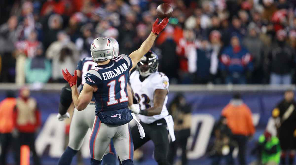 Julian Edelman New England Patriots Backup Quarterback