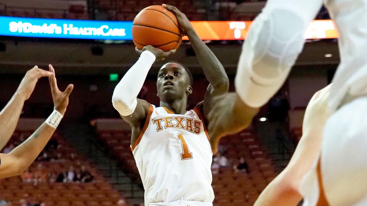 Texas Andrew Jones basketball