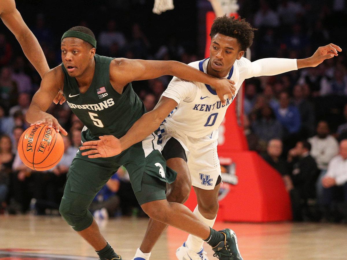 Kentucky vs Michigan State basketball 2019