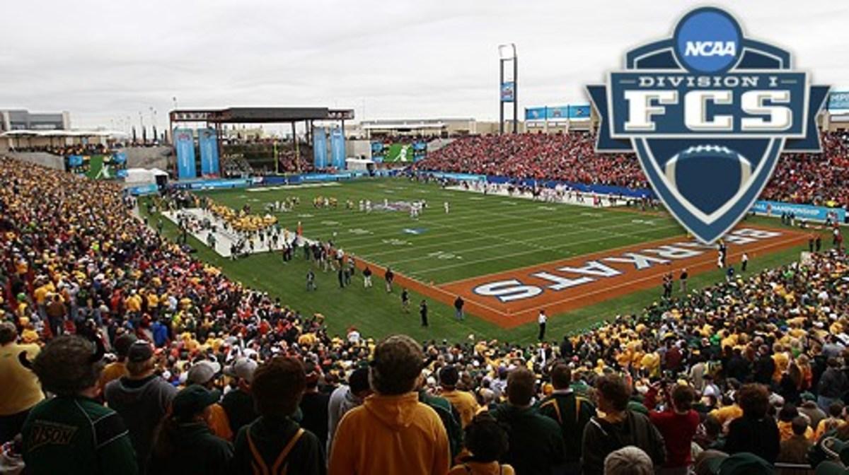 Frisco, TEXAS, JANUARY 7,2012: Pizza Hut Park Sam Houston State University v North Dakota State University for the Division 1 fotball Championship. ND won17-6. on January  7, 2012. 2011 Rick Yeatts