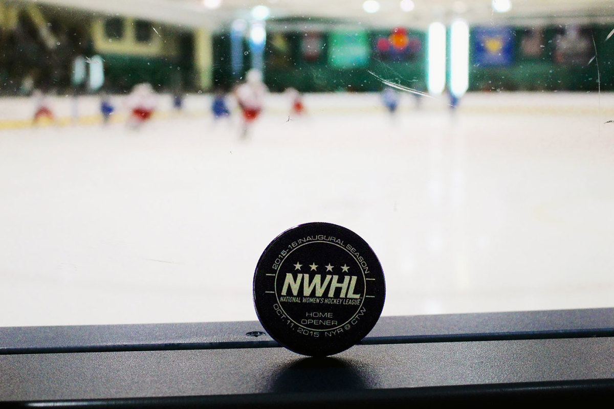 NWHL First-Overall Pick Sammy Davis Driven to Succeed