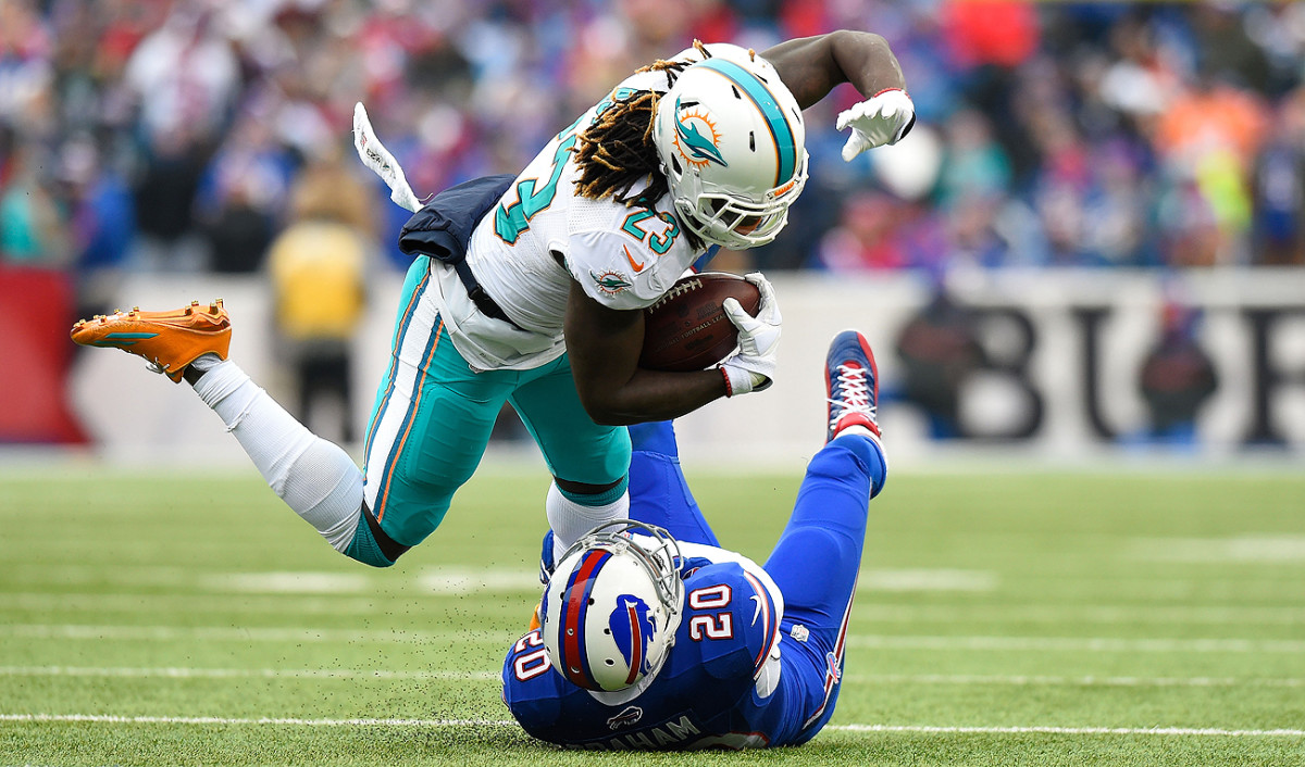 Jay Ajayi is a big reason why the Dolphins are back in the playoffs for the first time since the 2008 season.