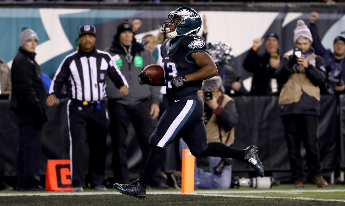 Darren Sproles played a big part in the Eagles' win over the Giants on Thursday.