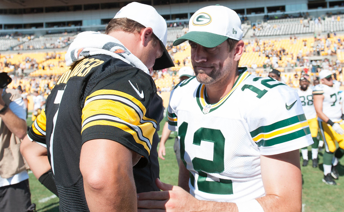 A rare Roethlisberger-Rodgers matchup will be one of the headliners in 2017.
