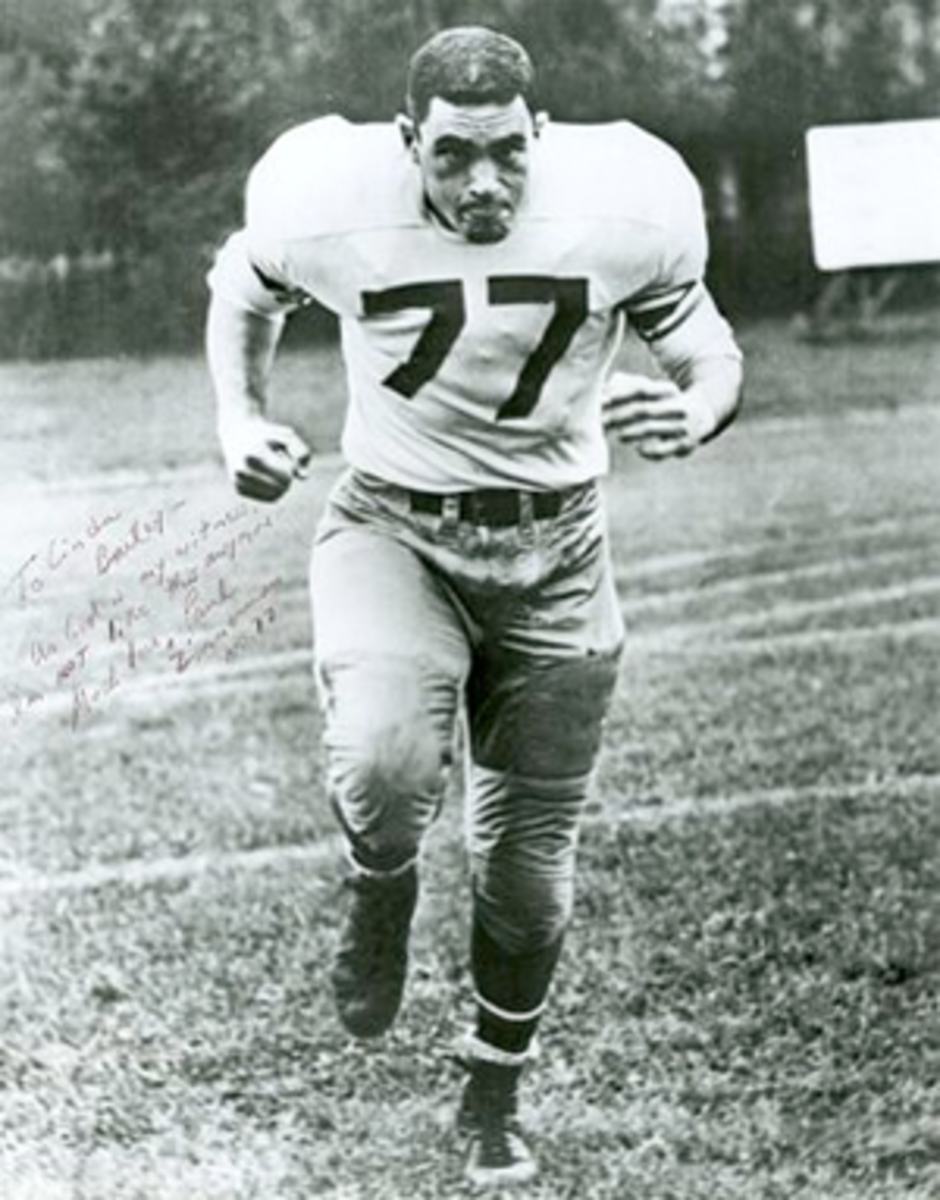 Dr. Z in his playing days.