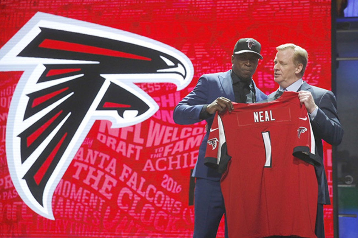 Keanu Neal could fill the 'Kam Chancellor' role for Dan Quinn in Atlanta.