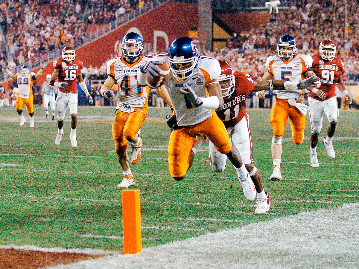 2007 Fiesta Bowl: Boise State football players relive Oklahoma ...