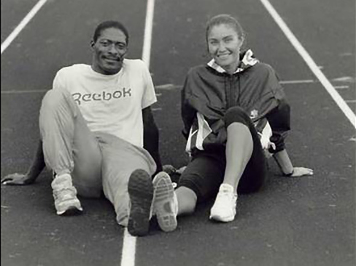Meeting Linda Haglund (right) gave McTear a new hope in life.