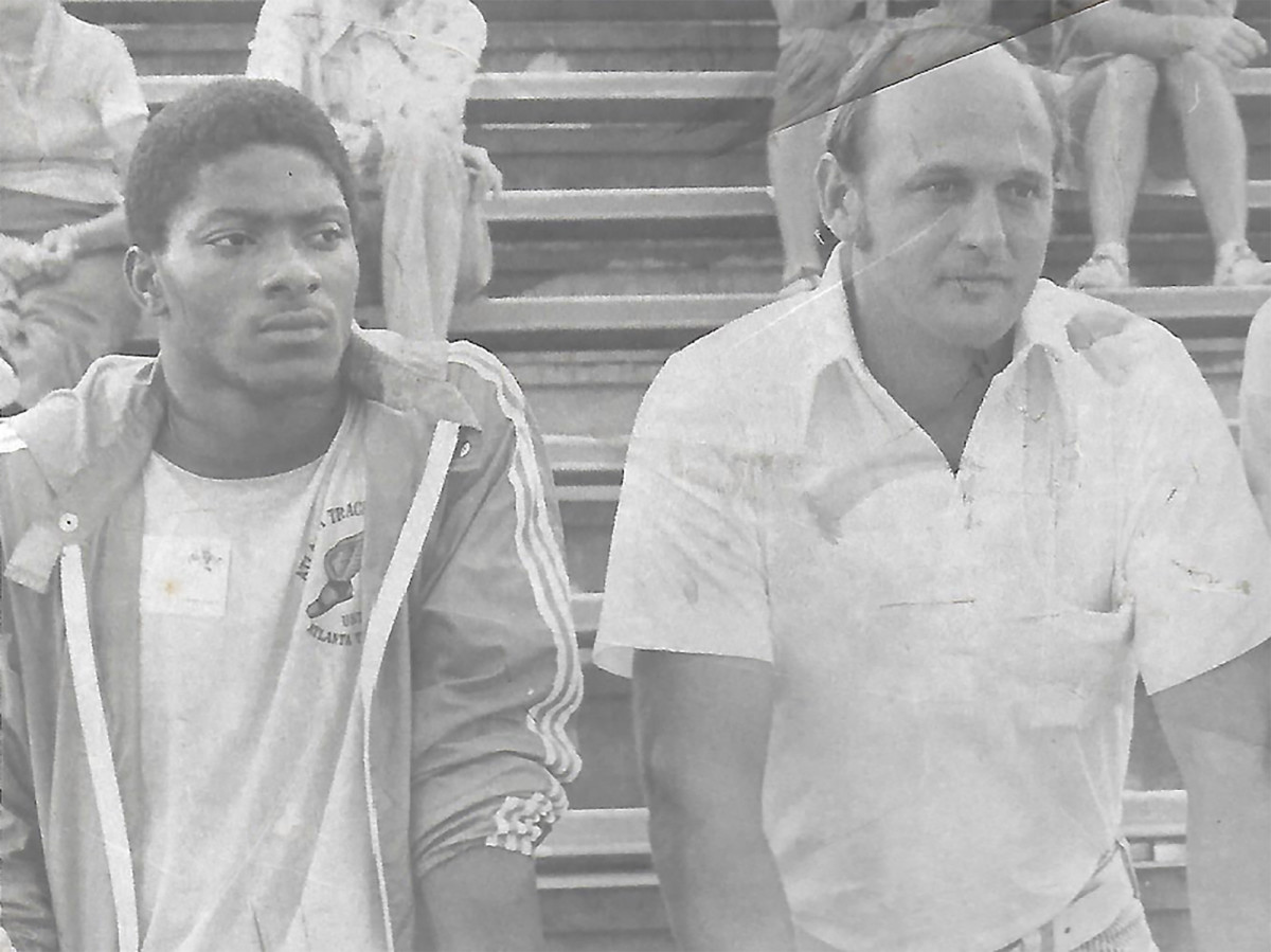 Will Willoughby (right) was more of an uncle and chauffeur than a coach to McTear.