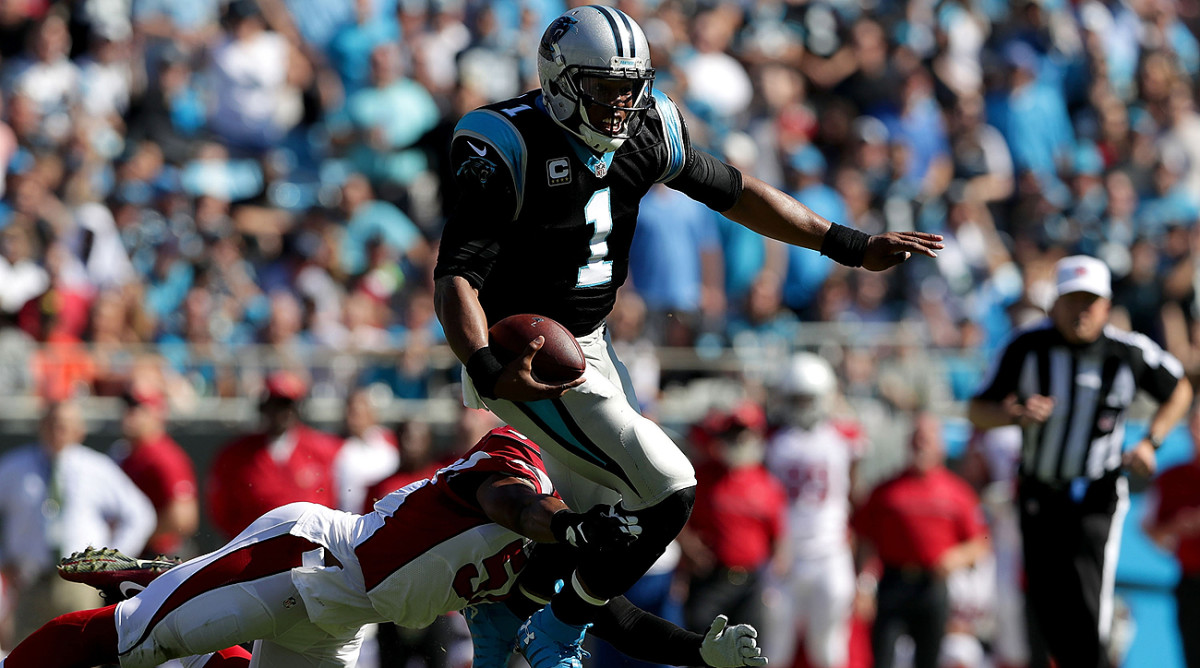 Cam Newton has been upset with officials for missing penalties that he believes should have been called.