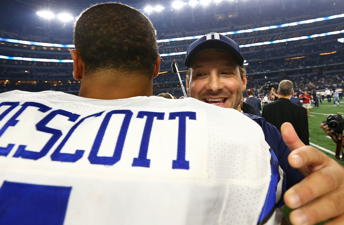 Romo has been all smiles and support publicly as Prescott has led the Cowboys to the best record in the NFL through 10 weeks.
