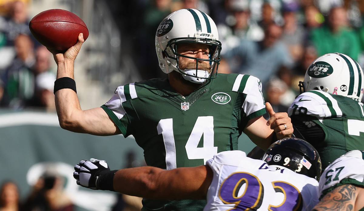 Ryan Fitzpatrick went 9 of 14 for 120 yards and a touchdown in relief, one week after losing his starting job after a 1-5 start.