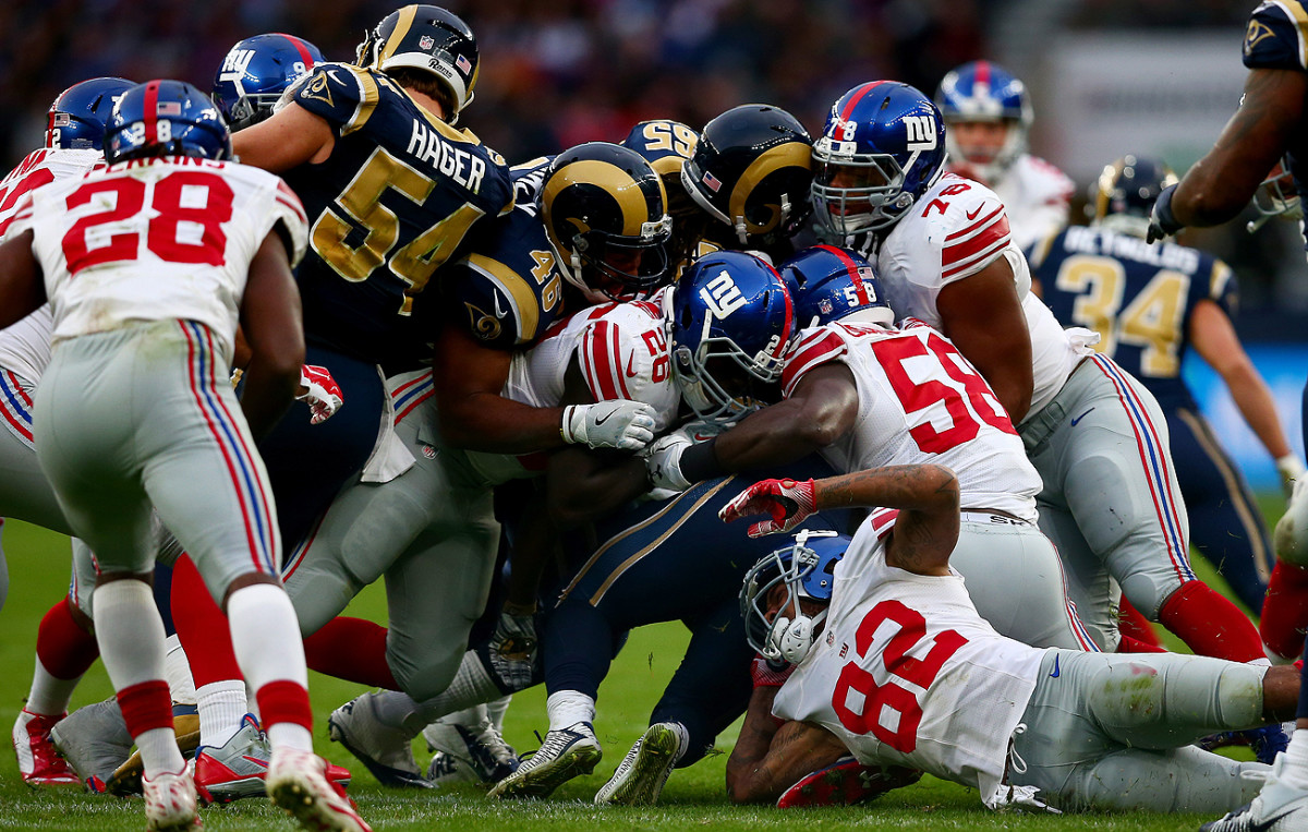 The NFL hasn't been exporting its finest product for the international series in London.