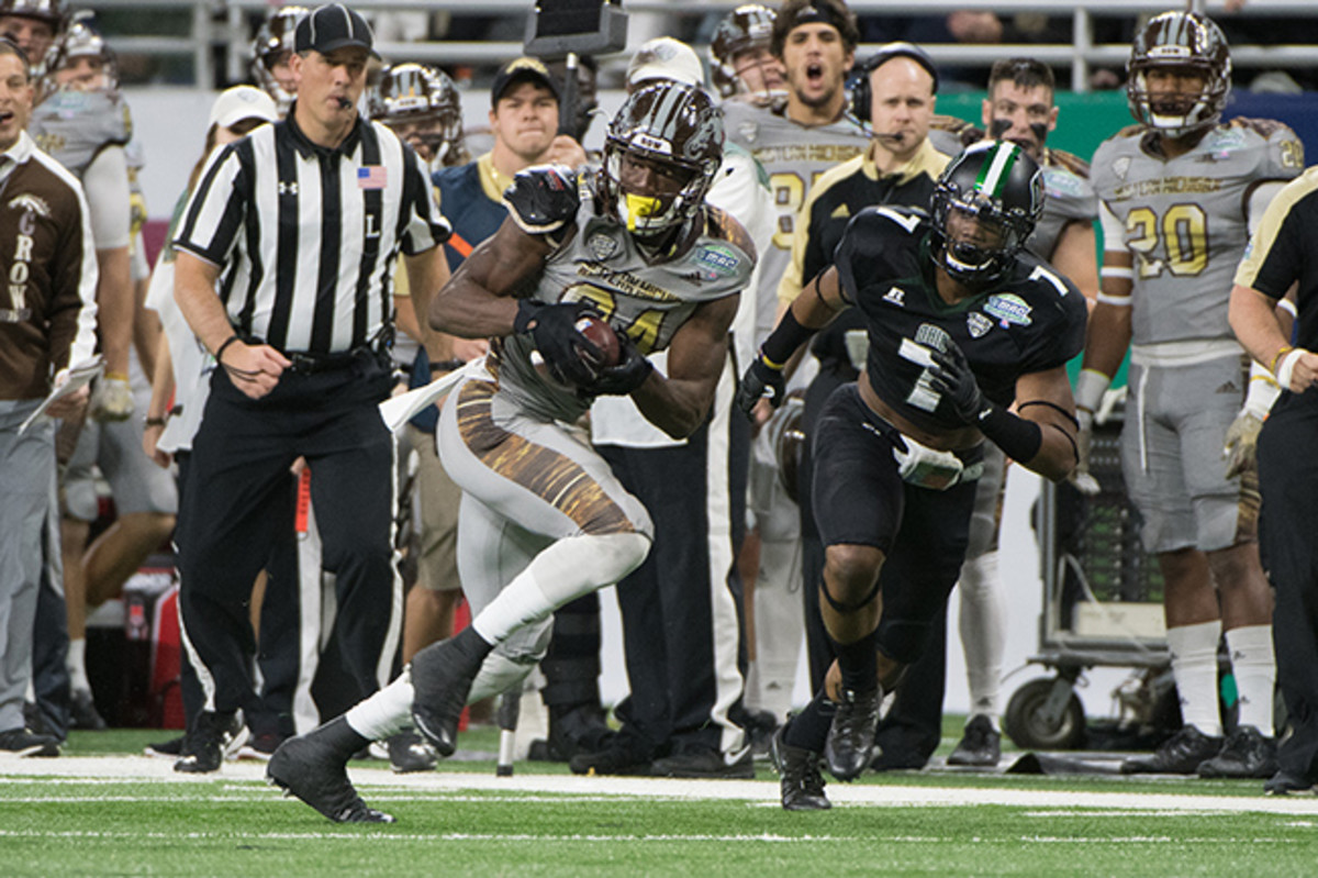 After leading Western Michigan to an undefeated regular season, Davis could be ticketed for Round 1.