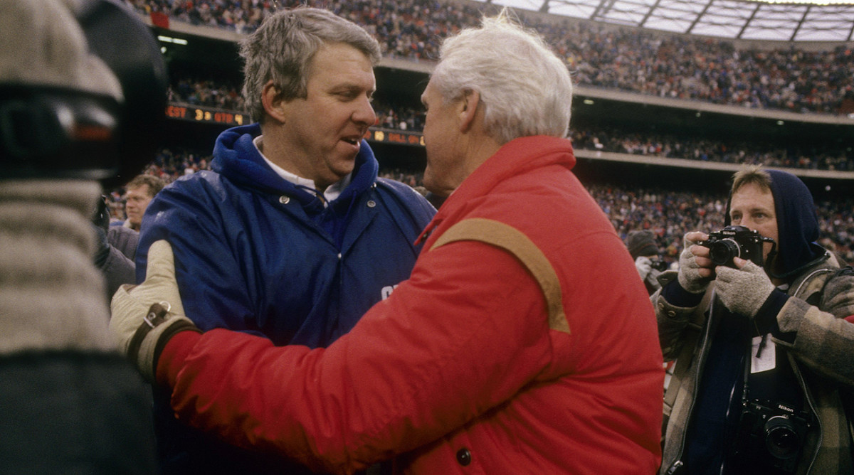 Bill Parcells and Bill Walsh are on the short list of the all-time best coaches in pro football.