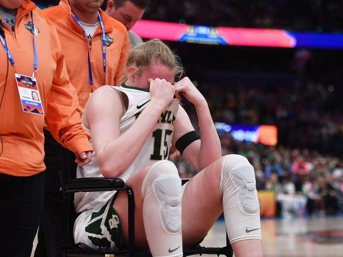 Baylor Lauren Cox injury