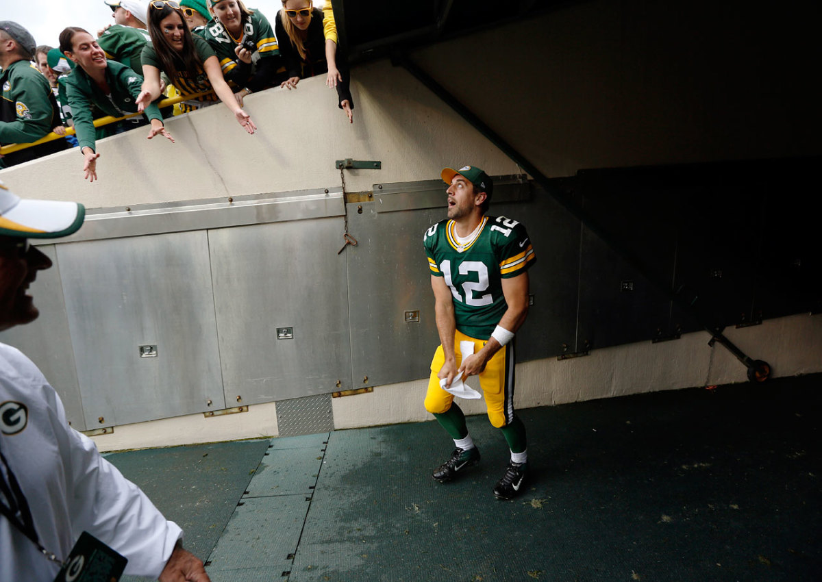 Som er Aaron Rodgers dating 2013