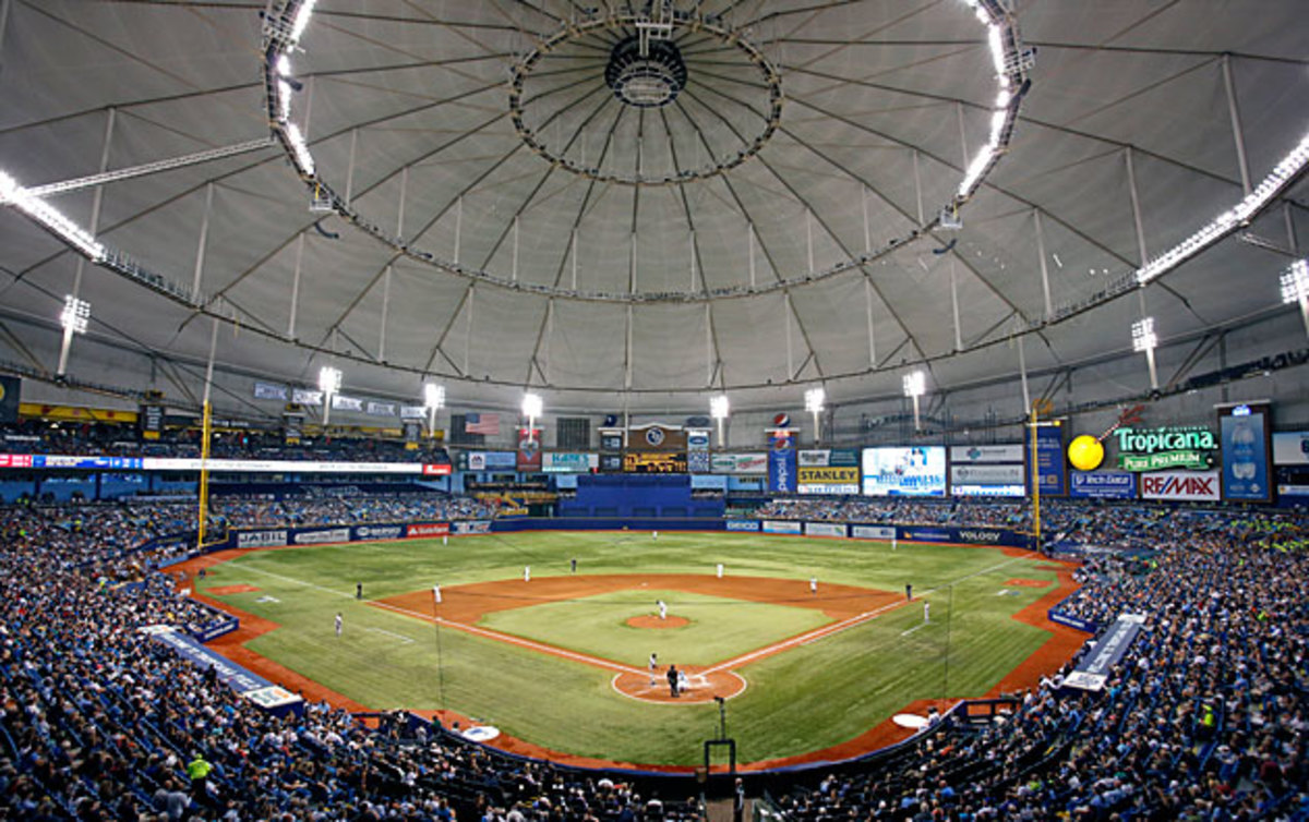 Whoever wins the Powerball lottery could buy the Tampa Bay Rays and either fix Tropicana Field or move the entire franchise.