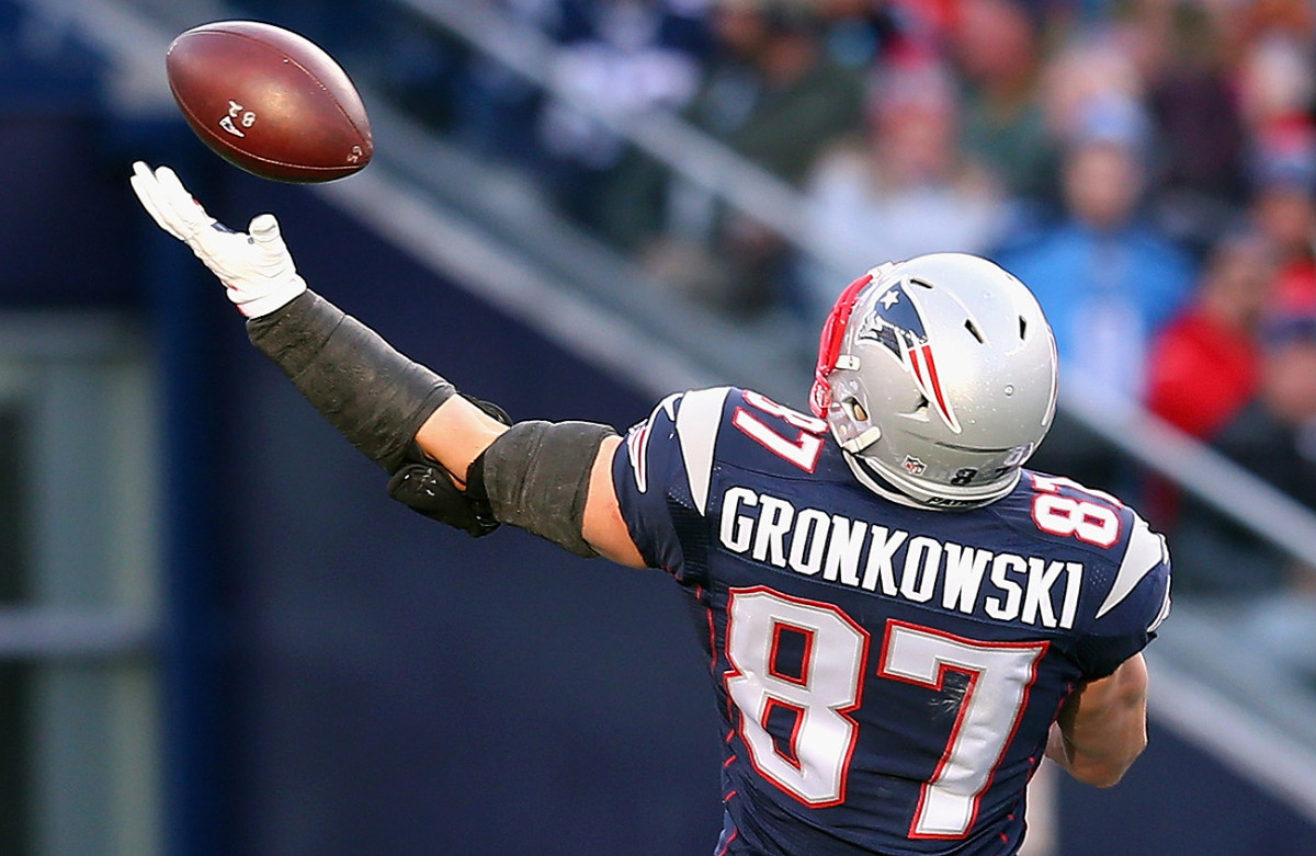 Patriots tight end Rob Gronkowski signed an extension in 2012 and will remain under contract through 2019.