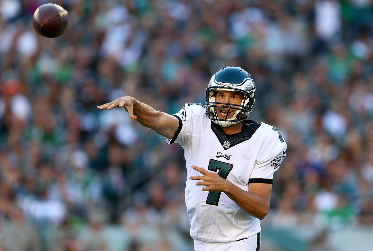 Sam Bradford has been locked in a dispute with the Eagles since the team traded up to draft a quarterback with the No. 2 pick.