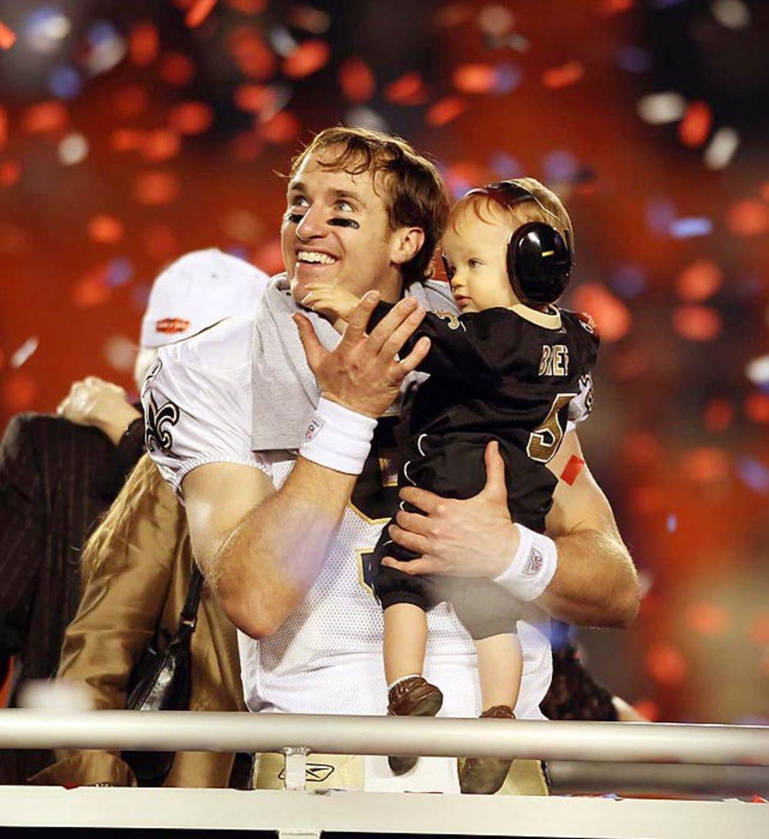 Super Bowl XLIV, Feb. 7, 2010