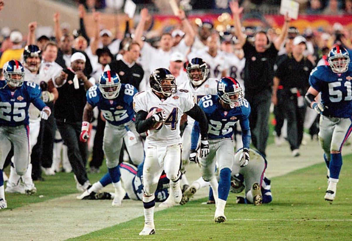 Super Bowl XXXV, Jan. 28, 2001