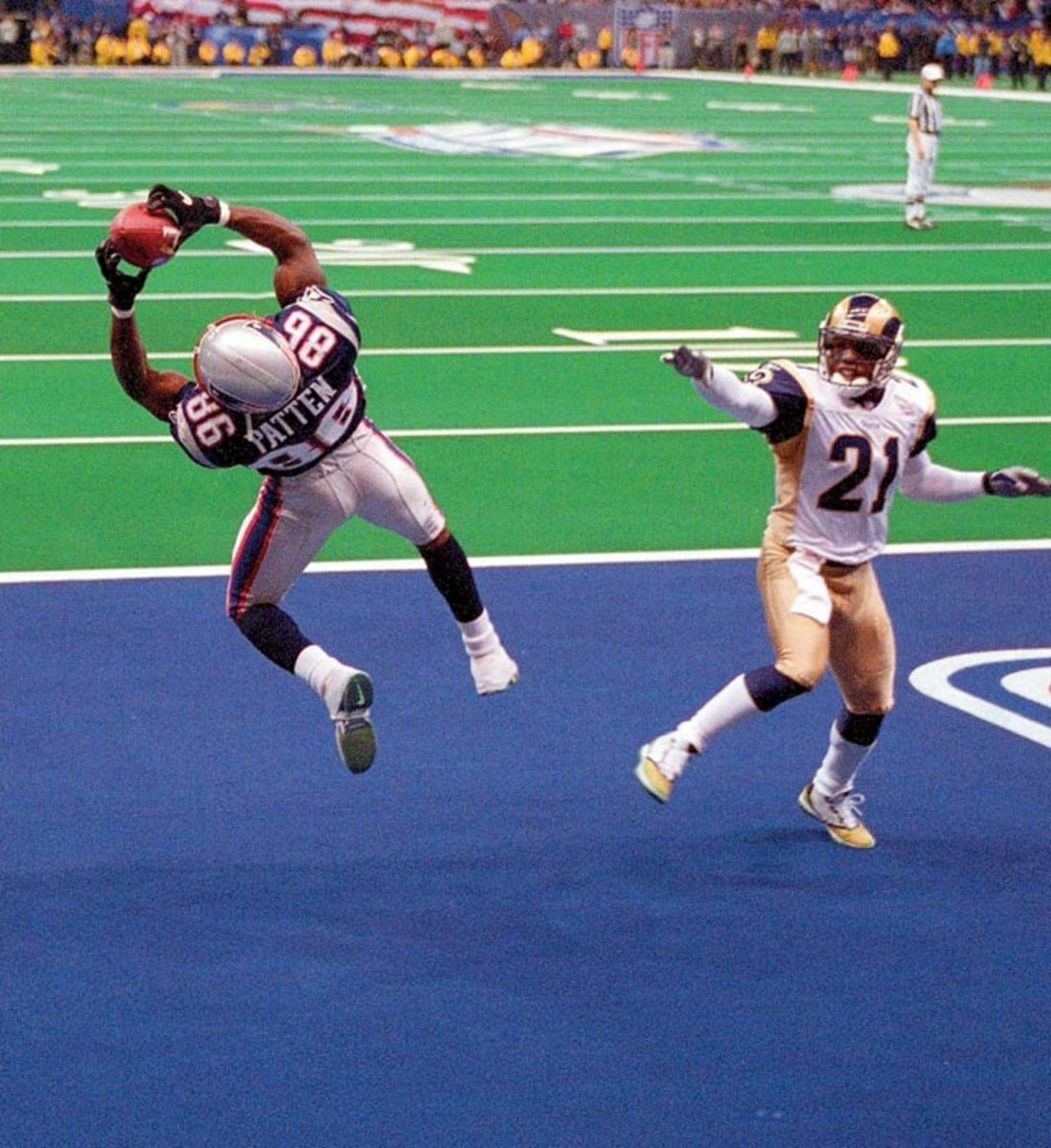 Super Bowl XXXVI, Feb. 3, 2002