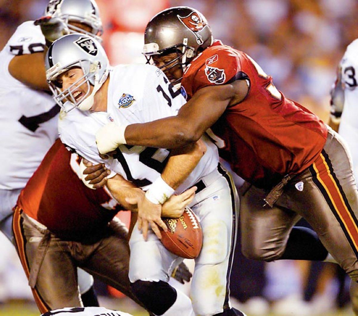 Super Bowl XXXVII, Jan. 26, 2003