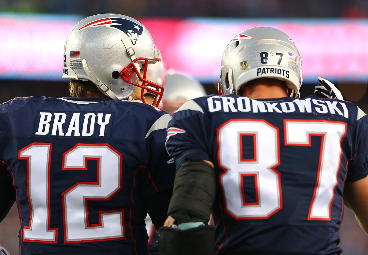 Tough love early on from Brady caused Gronk to raise his game.