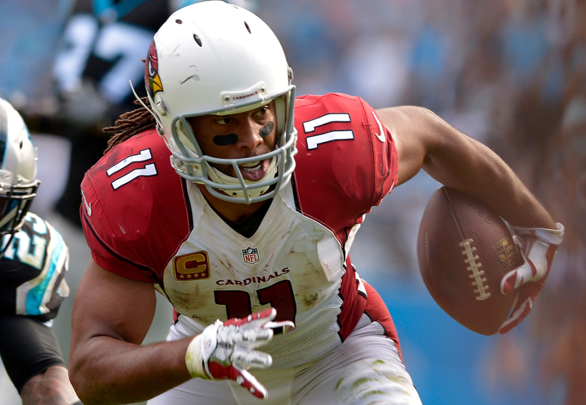 On Sunday, Larry Fitzgerald continued his ascent up the NFL's all-time receiving list.