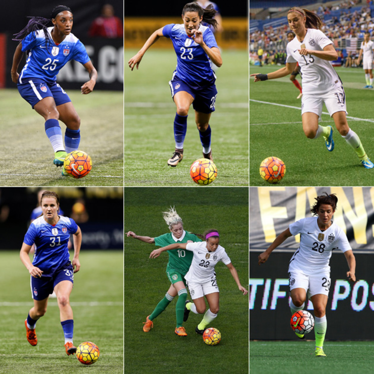 Taking Stock Of The USWNT's Forwards Ahead Of Olympic