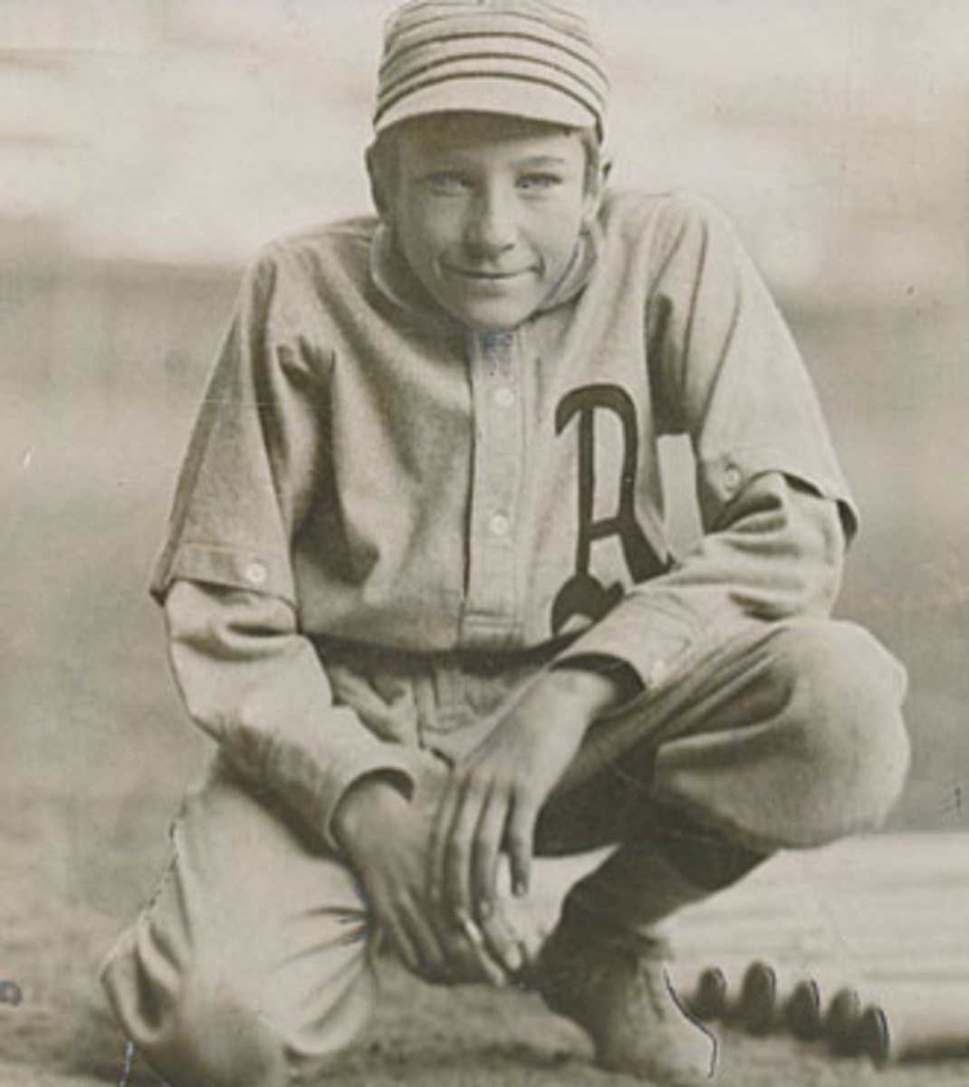 The ill-fated Van Zeist was the A's batboy.