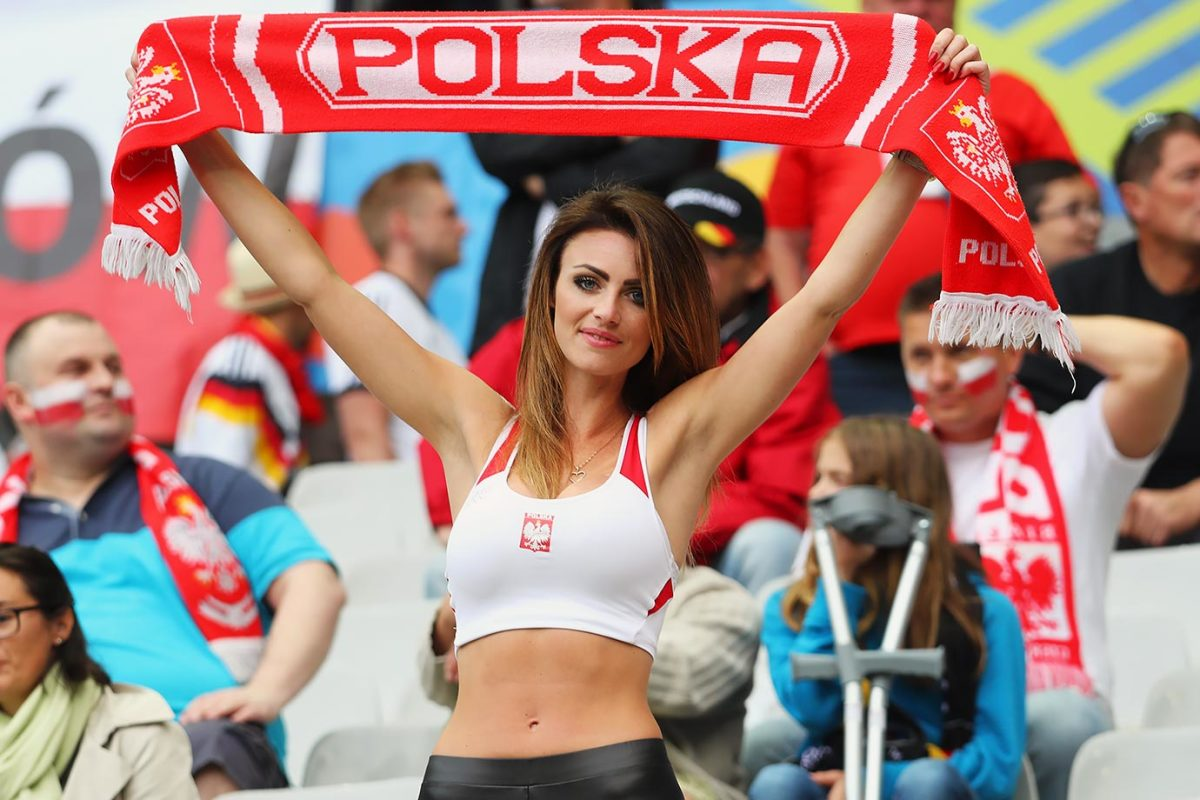 Female Fans of Euro 2016 - Sports Illustrated