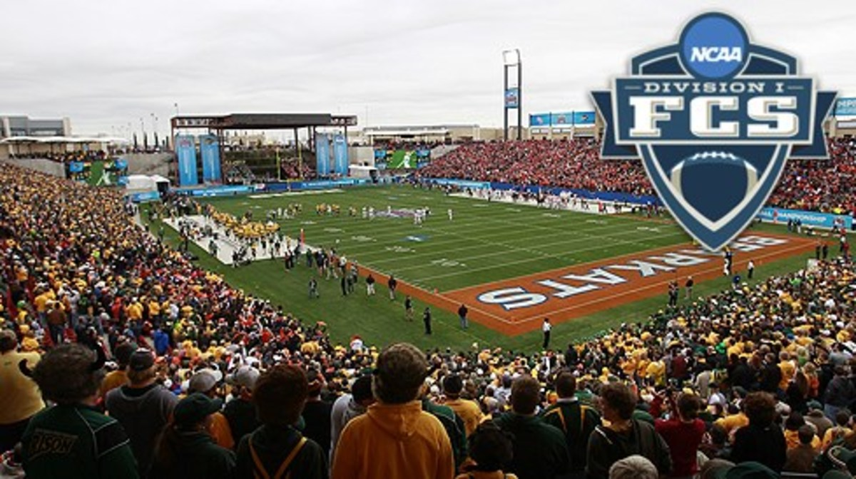 Frisco, TEXAS, JANUARY 7,2012: Pizza Hut Park Sam Houston State University v North Dakota State University for the Division 1 fotball Championship. ND won17-6. on January  7, 2012. 2011 Rick Yeatts