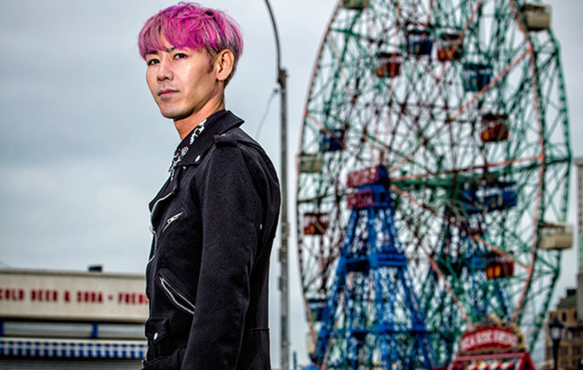 Kobayashi lives in Brooklyn but rarely returns to Coney Island.