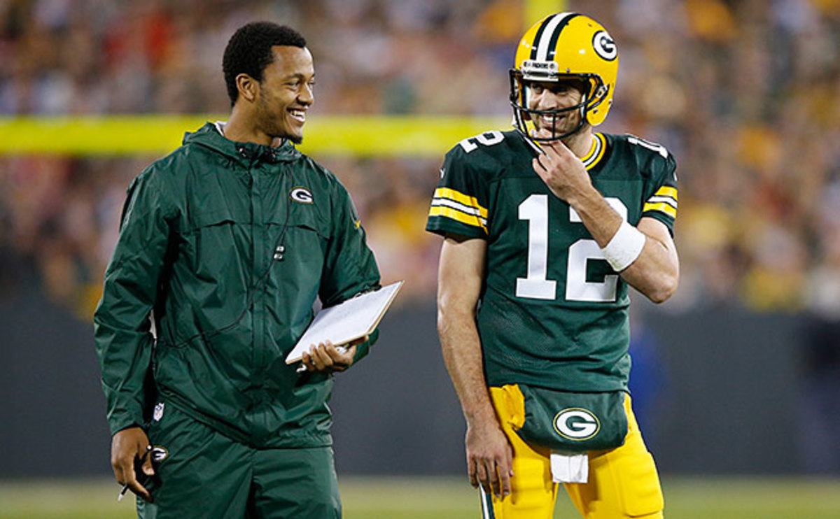 Rodgers, Hundley says, has served as a valuable mentor.