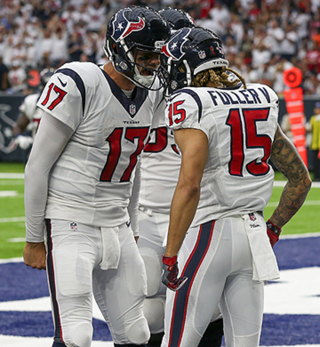 The Houston debut for Brock Osweiler and Will Fuller was a victorious one, with the Texans beating the Bears, 24-13.