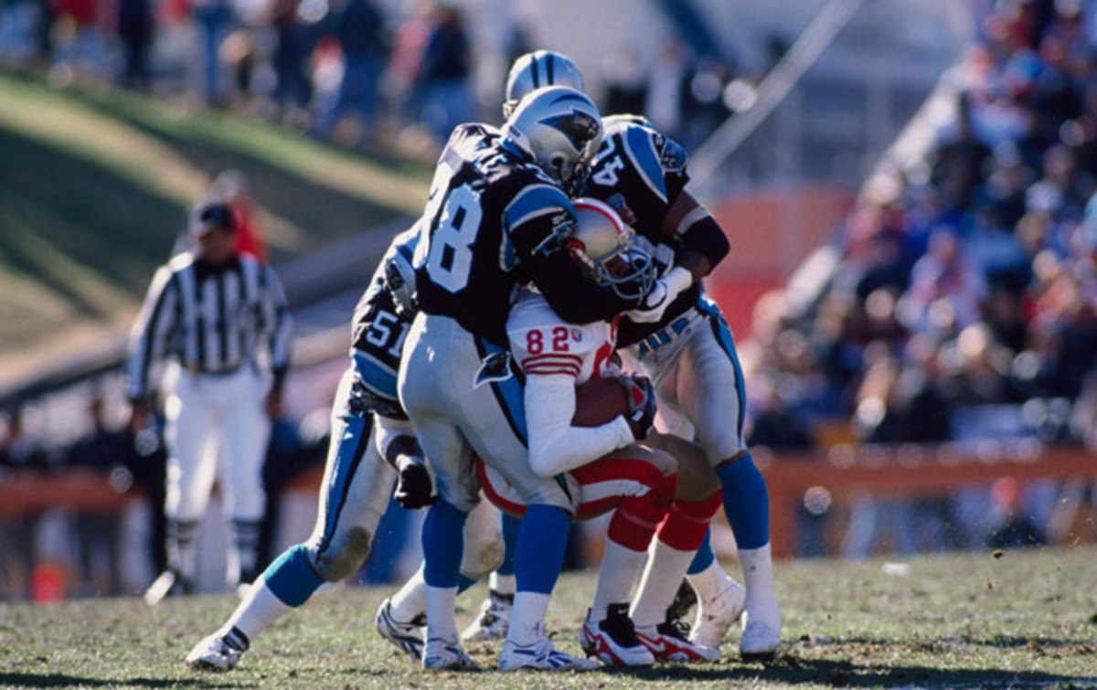 The Niners were the bullies of the division, but the Panthers proved they weren't intimidated.