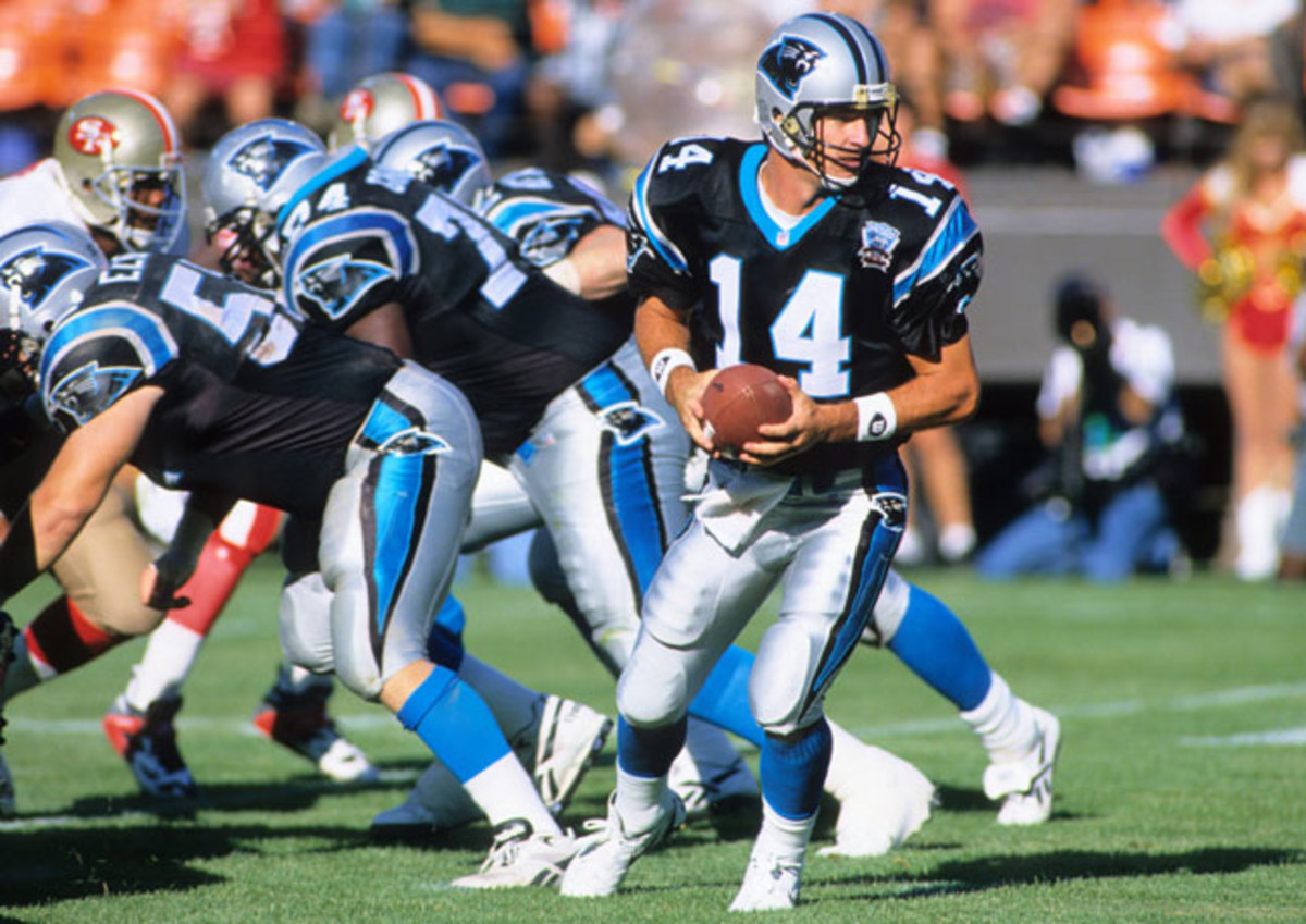 After nine seasons in Buffalo, Reich joined the fledgling Panthers in hopes of being a starter for the first time in his career.